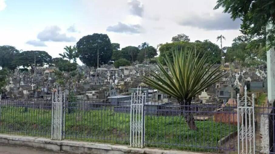 Vítima será sepultada e exumada no cemitério da Saudade, em BH