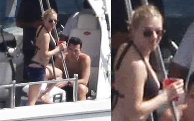 Scarlett Johansson: Dia dos Namorados a bordo