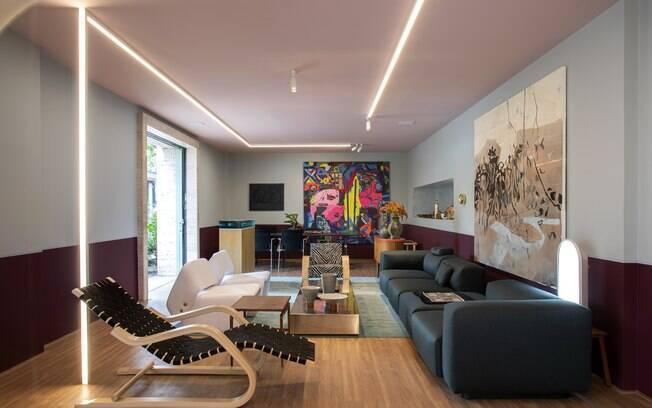 Pretende mudar a decoração da casa? Você pode se inspirar neste cômodo do Coral Hotel, do arquiteto Pedro Lázaro