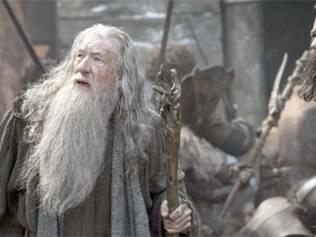 Gandalf tenta impedir uma nova guerra na Terra Média