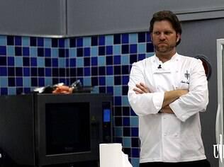 Carlos Bertolazzi, chefe e apresentador do 'Cozinha sob Pressão', do SBT