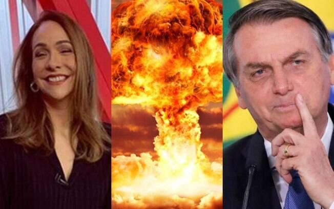 Maria Beltrão e Bolsonaro