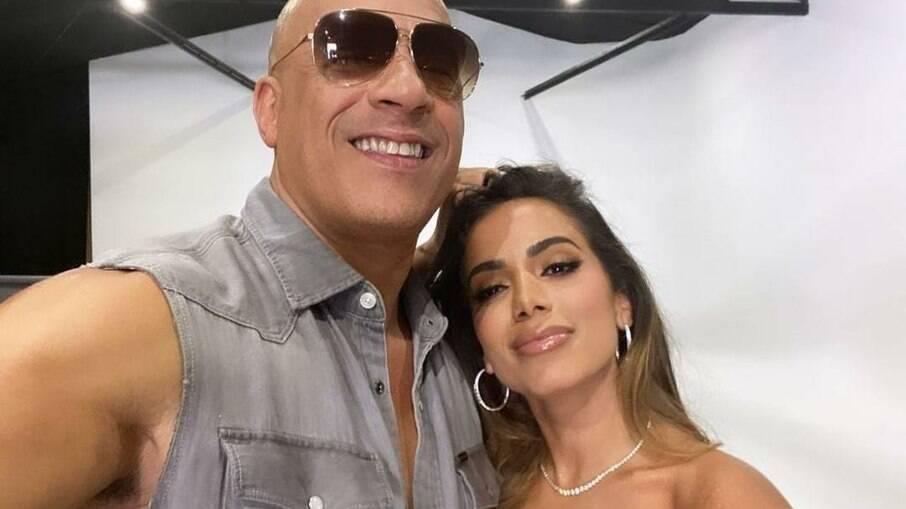 Anitta e Vin Diesel
