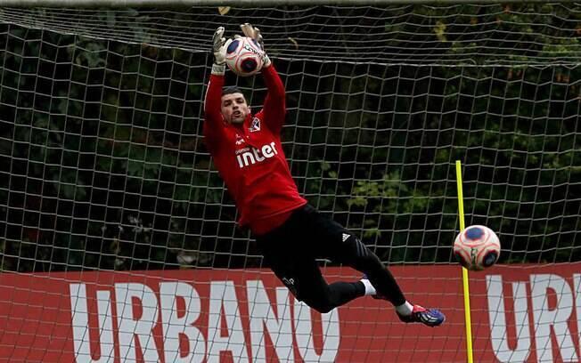 São Paulo volta aos treinos