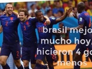 Zoações bombam na internet após último jogo do Brasil na Copa
