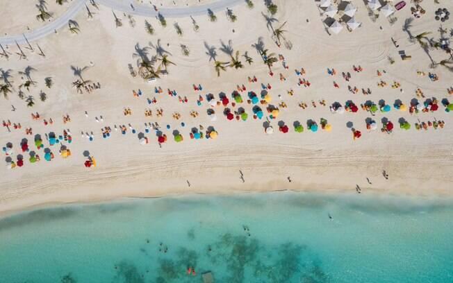 à Ocean Cay MSC Marine Reserve, ilha privativa da MSC Cruzeiros nas Bahamas. Foto: Divulgação