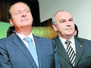 Definição. Júlio Delgado (esquerda) diz que tem a confiança de Campos, que prefere não se envolver