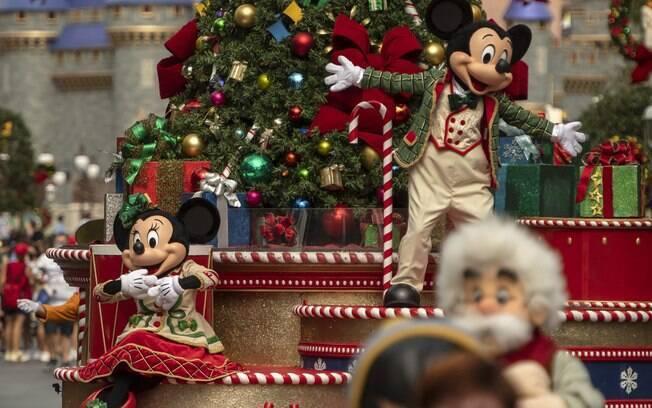Natal dos parques do Walt Disney World serão realizados até 30 de dezembro