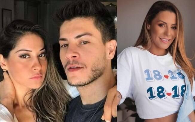 Mayra Cardi, Arthur Aguiar, Arícia Silva