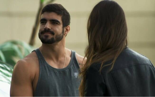 Rock (Caio Castro) termina namoro com Fabiana (Nathalia Dill)