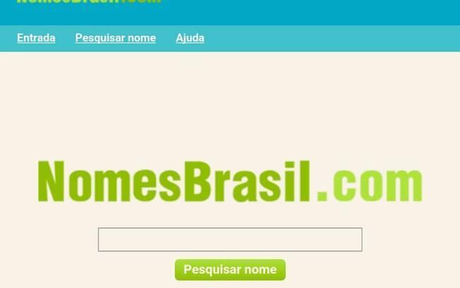 Site Nomes Brasil, hospedado fora do País, saiu do ar nesta quinta-feira (7) após notificação do Ministério da Justiça