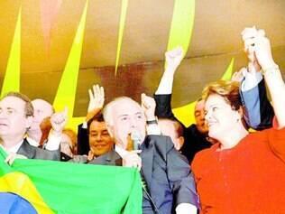 União. Dilma apresentou sintonia com Temer e seu grupo no PMDB, mas ainda sofre resistências