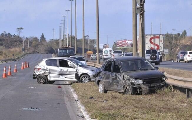 Seis de cada dez casos de acidentes graves envolvem pessoas entre 15 e 39 anos