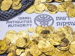 As moedas encontradas remontam a dois califas fatímidas que reinaram do fim do século X