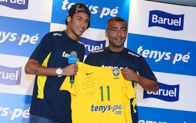 Neymar e Romário