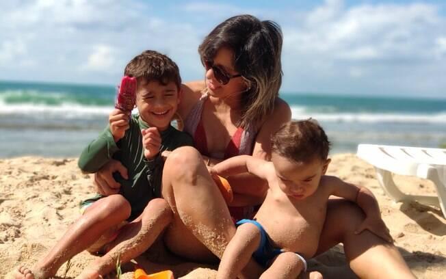 Sarah Eleutério, colunista do Delas, já falou sobre a frustração dos filhos e, agora, é a vez de escrever sobre compensações