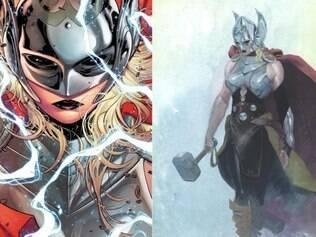 Marvel anuncia que Thor será uma mulher a partir das revistas lançadas em outubro, nos EUA