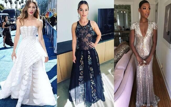 Os looks das famosas chamaram atenção na 70ª edição do Emmy Awards, maior prêmio da televisão norte-americana