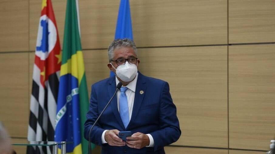 Válter Suman, prefeito de Guarujá