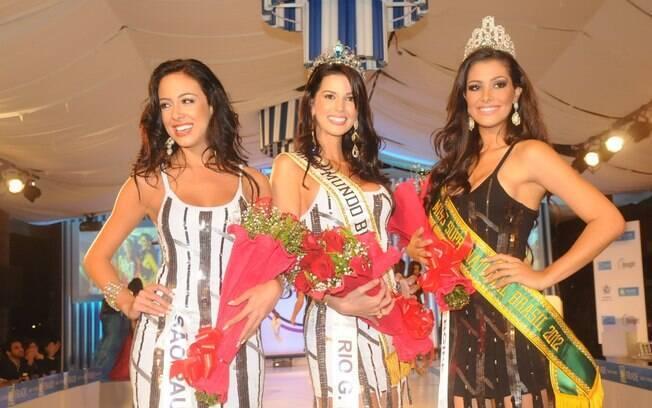 Miss São Paulo, Miss Rio Grande do Sul e Miss Sergipe: as finalistas