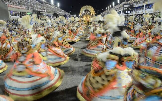 Desfile Beija-flor. Foto: Alexandre Macieira/ Riotur