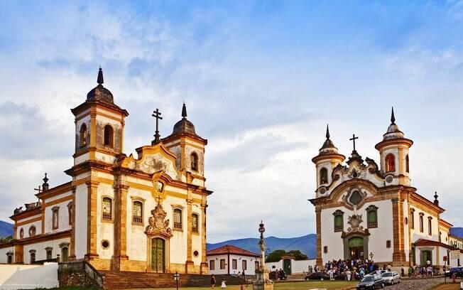 Igrejas de São Francisco de Assis e Nossa Senhora da Assunção, em Mariana