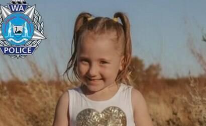 Austrália: polícia oferece recompensa por garota sumida