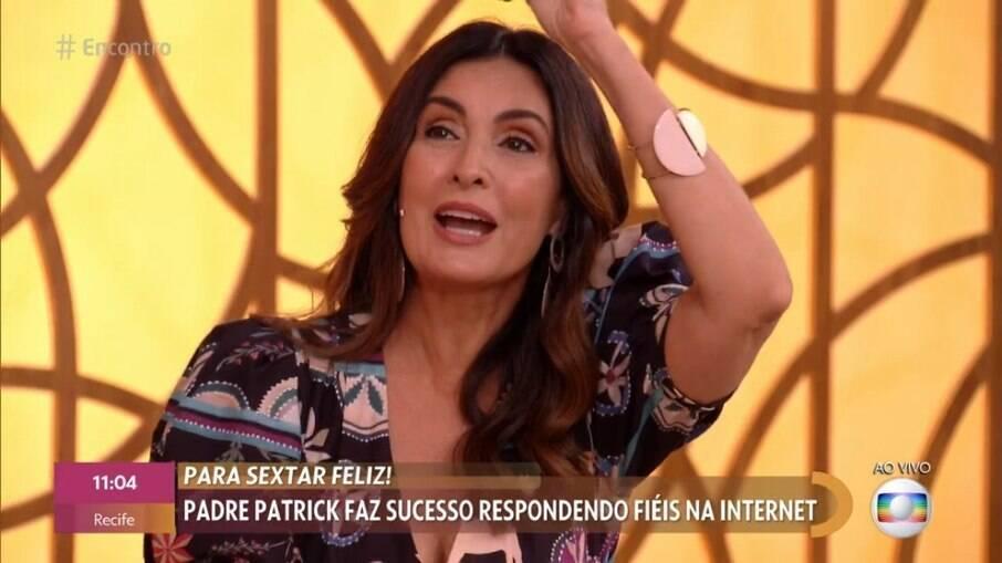 Fátima Bernardes fica chocada com pergunta de convidada