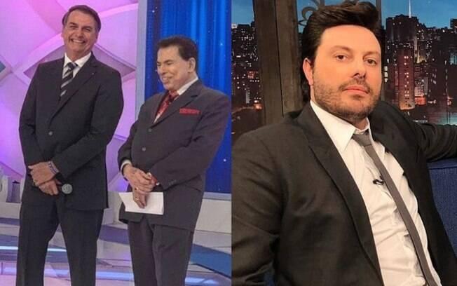 Danilo Gentili pode entrevistar Bolsonaro em breve no