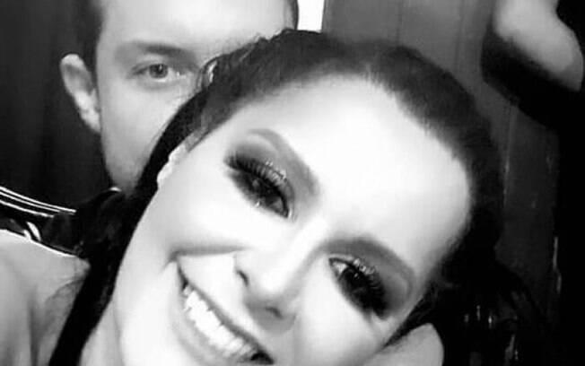 Maraísa com o novo namorado Luiz Souza Lima
