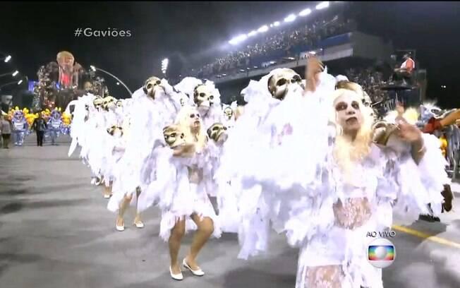 Gaviões. Foto: TV Globo/Reprodução