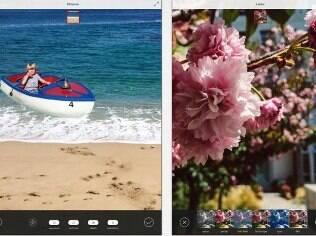 Photoshop Mix edita fotos e cria montagens. Grátis, apenas para iPad
