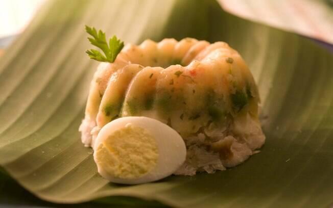 Foto da receita Cuscuz com pescada e legumes light pronta.