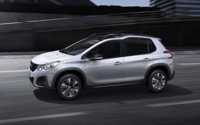 Peugeot 2008 tem descontos de passam de R$ 17 mil para pagamento à vista, além de financiamento com parcela para 2021