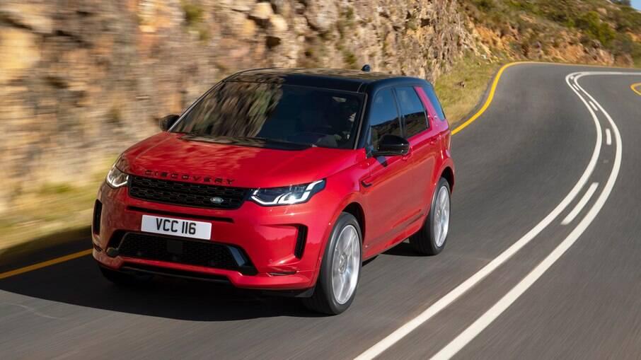 Land Rover Discovery Sport 2021: SUV  montado em Itatiaia (RJ) ganhou nova cor, outro volante e novos recursos na multimídia