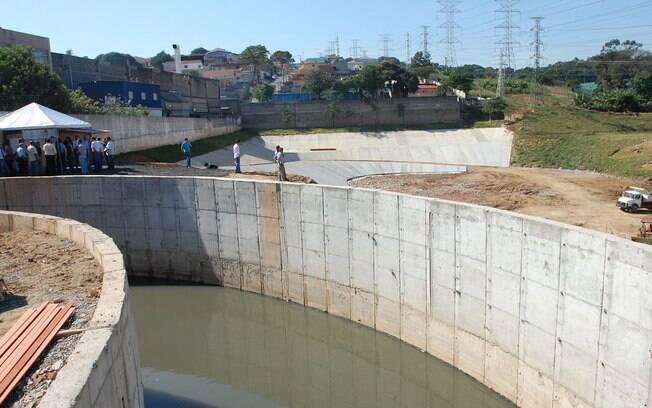 Piscinão Anhanguera, inaugurado em 2009