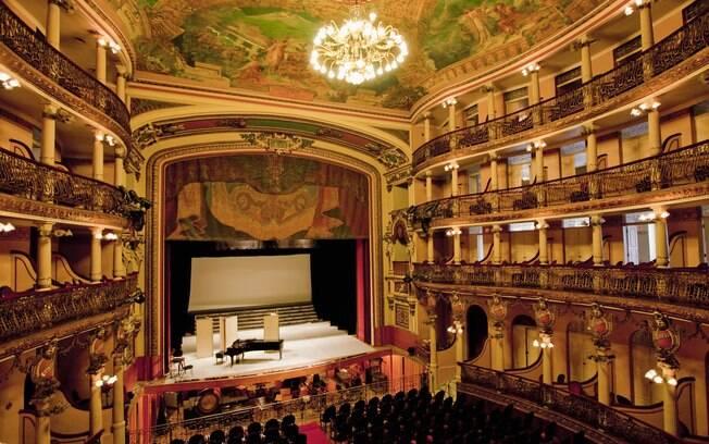 O belo Teatro Amazonas é um grande orgulho dos manauaras