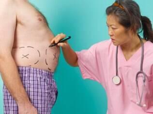 Cada vez mais os homens procuram cirurgias plásticas no Brasil