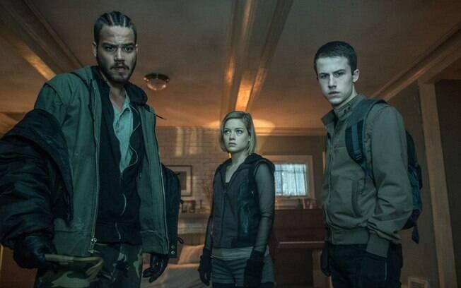 O trio de assaltantes que passam de algozes a vítimas em uma boa sacada do roteiro