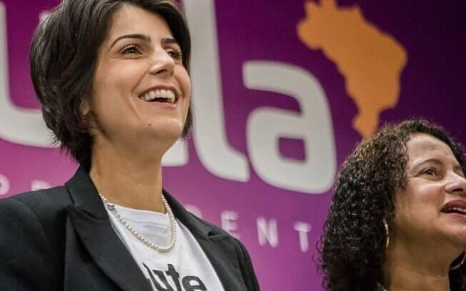 Manuela D'Ávila foi oficializada candidata à Presidência pelo PC do B nesta quarta-feira (1)