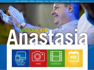 Site de Antonio Anastasia foi lançado nesta sexta-feira, 1/8/2014