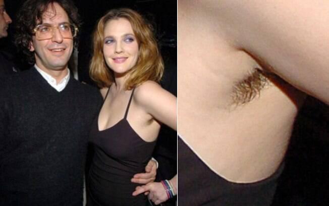 Assim como Julia Roberts, Drew Barrymore também já economizou na depilação das axilas