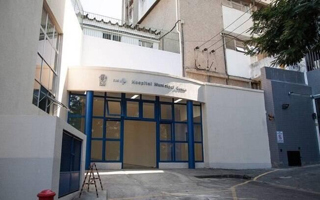 Fachada do Hospital Municipal Jesus, em Vila Isabel