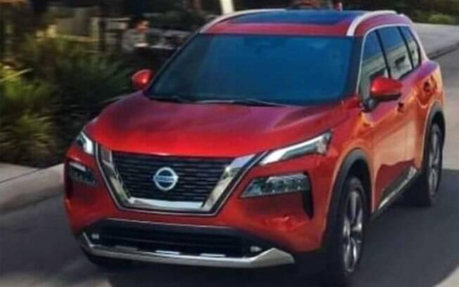 Nissan X-Trail terá desenho parecido com o do novo Hyundai Tucson, com faróis embutidos no para-choque dianteiro