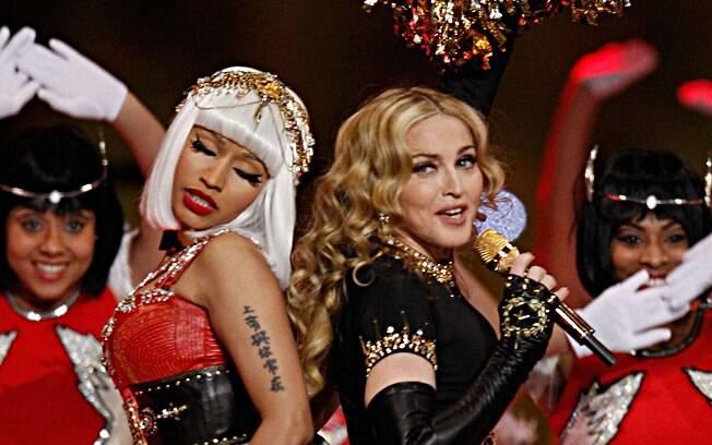 Madonna e Nicki Minaj