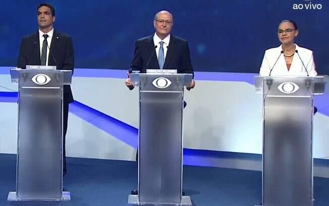 Cabo Daciolo e outros sete candidatos à Presidência da República participaram do primeiro debate, promovido pela Band