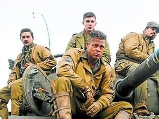"""""""Fury"""" (""""Corações de Ferro""""), que ainda estreará no Brasil, um dos mais pirateados"""