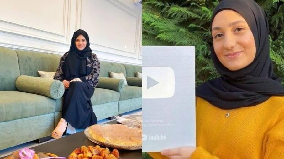 Íris e Fatima moram em países árabes e contam as experiências nas redes sociais