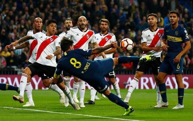 Final da Libertadores entre River Plate e Boca Juniors, em Madri, na Espanha