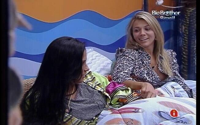 Kelly e Fabiana riram dos roncos de João